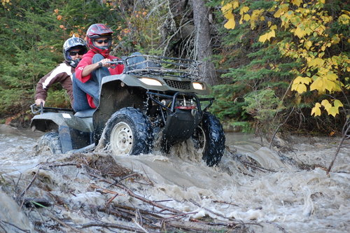 ATV Trip in Northern Ontario at Waterfalls Lodge