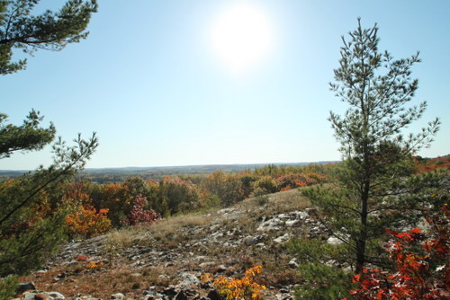 a nice vista found while ATVing in Northern Ontario