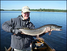 Colin with a Northern Pike